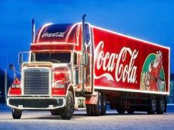 Coca-Cola Trucks auf Weihnachtstour