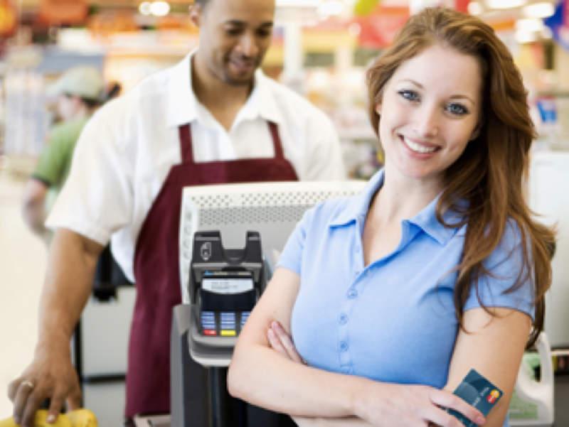 Im Supermarkt bezahlen mit MasterCard
